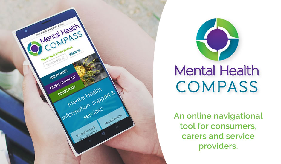 Mental Health Compass brochures